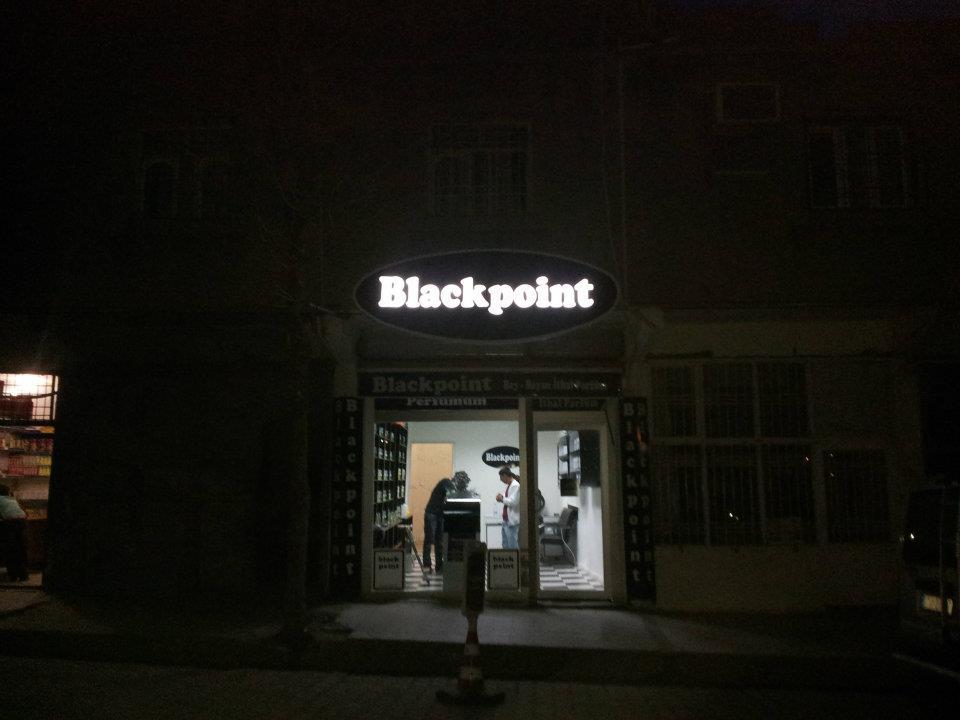 Blackpoint Işıklı Tabela
