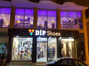 DİP Shoes Işık Kutu Harf Tabela