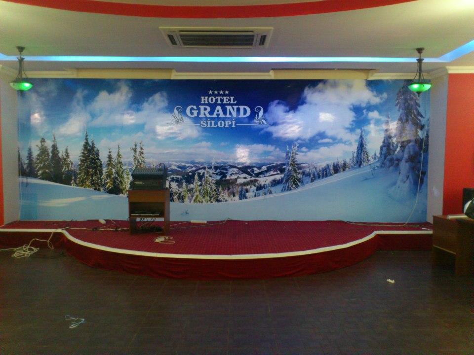Grand Hotel Dijital Baskılı Duvar Kağıdı