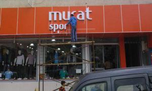 Murat Spor Fileli Işıklı Kutu Harf
